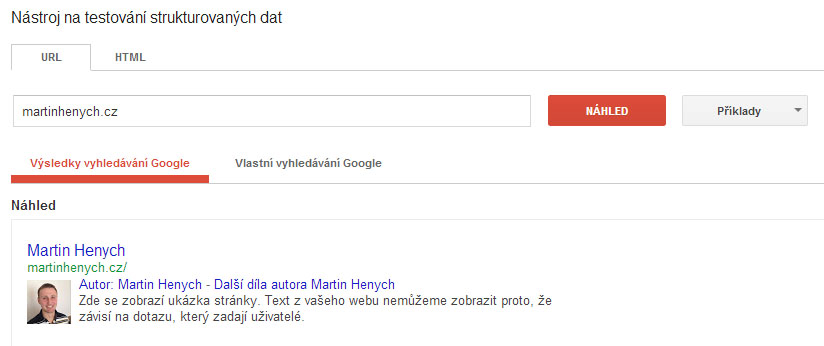 google-structured-data-test